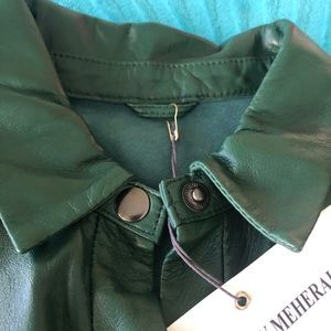 Dresses - Leather dress